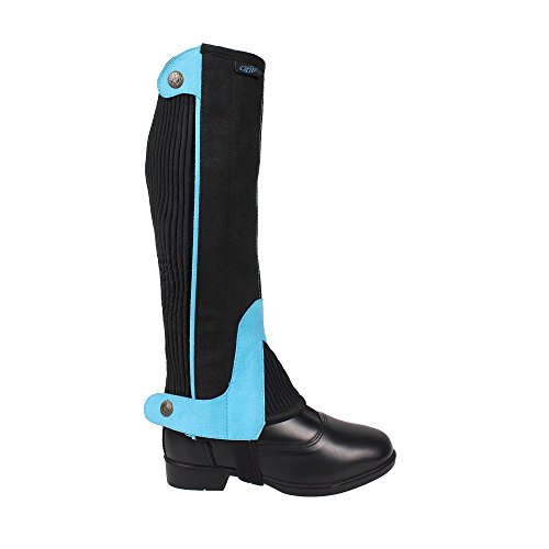 turquoise and Size Chaps Choose Chaps Leg Riding Kids Colour 7g8qwHBH
