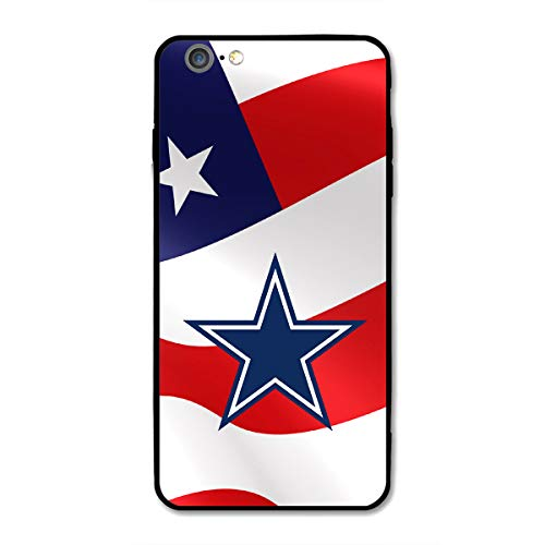 iPhone 6 iPhone 6s case, Acrylic PC Back Cover TPU Silicone 2 in 1, Designed for Apple iPhone 6/6s 4.7 Inch (Cowboys-DAL)