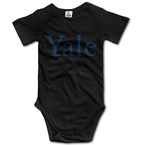Price comparison product image OOKOO Baby's Yale University Bodysuits Black 12 Months
