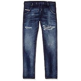 Diesel Men's Krooley-x-ne Sweat Jeans
