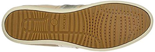 Geox D Myria a, Zapatillas para Mujer Beige (skinc8182)