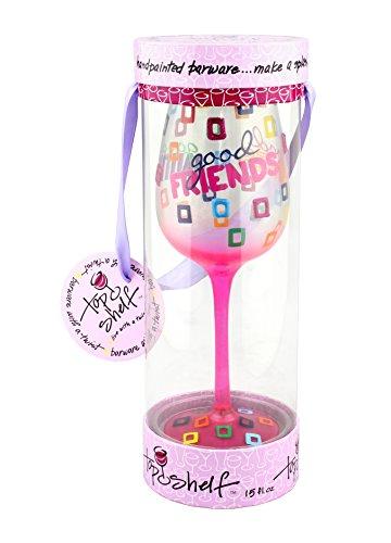 MIP Wine Glass Goblet Im So Freaking Magical Unicorn 17 oz Stemless