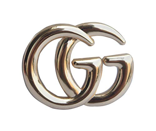 Designer Pin Brooch (YIAI GG Letter Designed Metal Brooch Pin All Party Jewelry for Women (Gold))