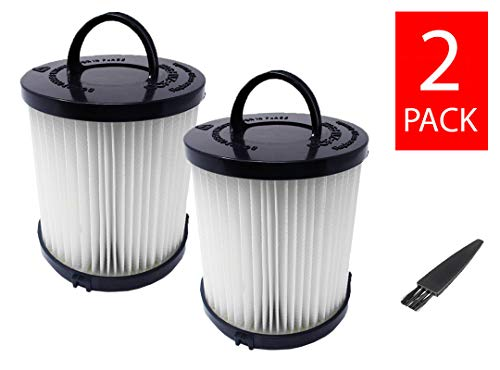 GOLDTONE Replacement Allergen Vacuum Filter Fits Eureka Vacuum Cleaner. Replaces Your Eureka DCF-21 Part No. 67821, 68931, 68931A, EF91, EF-91, EF-91B (2 Pack)