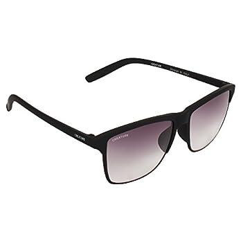Creature Uv Protected Wayfarer Unisex Sunglasses(Doit-001 53 Purple)