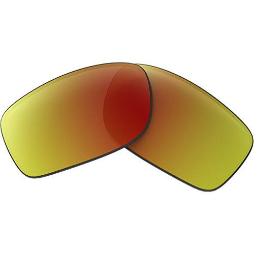 Oakley Fives Squared/Fives 3.0 Men's Active Replacement Lens Lifestyle Sunglass Accessories - Ruby Iridium / One - $16 Sunglasses Oakley