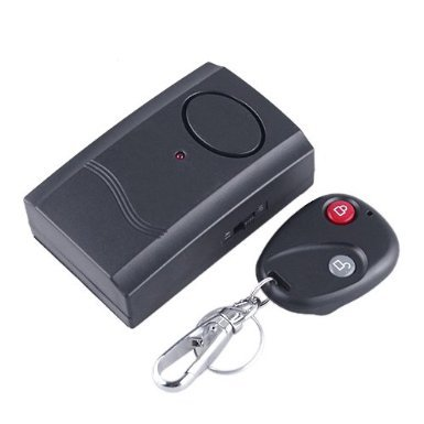 Security Wireless Remote Control Vibration Alarm Door Window Detector