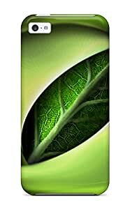 Hot Design Premium YvvhZZM13MrViC Tpu Case Cover Iphone 5c Protection Case(aero Leaf Lncfuulvc)
