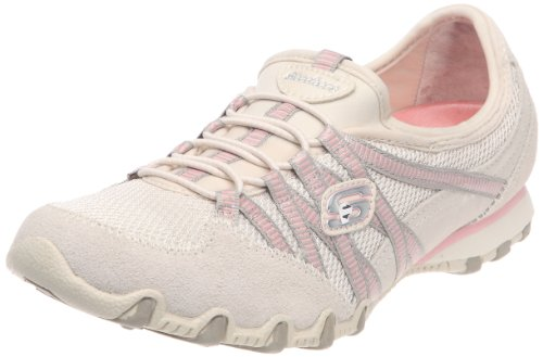 Skechers Damen Bikers Hot-Ticket Sneaker Beige (Nttp)