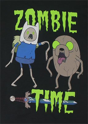 Adventure Time Men's Zombie Time T-shirt