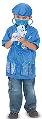 Melissa & Doug Veterinarian Dress-Up Set - One-Size (3-6 years) | Computers And Accessories