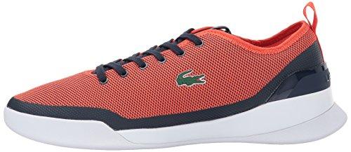 Lacoste Men's Lt Dual 317 1 Sneaker, Navy, 8 M US