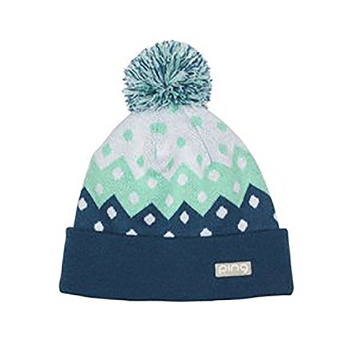 NEW Ping Ladies Knit 173 Mint/Teal Pom Pom Beanie Golf Toboggan by Ping (Image #1)