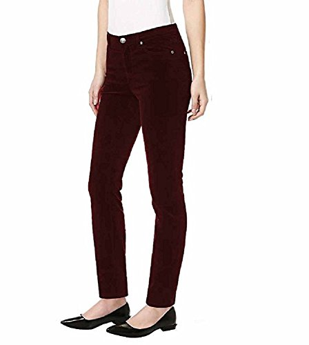 Buffalo David Bitton Womens Mid Rise Skinny Stretch Supreme Corduroy Pants (14/34, -