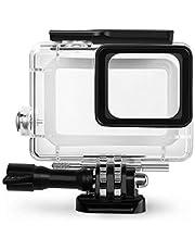Rhodesy 18 in 1 Kit di Accessori per GoPro Hero 7(Solo nero) Hero (2018) GoPro Hero 6 Hero 5, Custodia Protettiva Impermeabile Pacco Accessori per GoPro Hero 2018 Hero7(Nero)/6/5 Action Camera