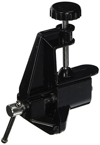 Uxcell Metal Craft Hobby Clamp Bench Table Vice, Black