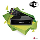 Genuine INFOMIR MAG 410 Android IPTV Set-TOP Box with WiFi Module Supports 4K and HEVC ...