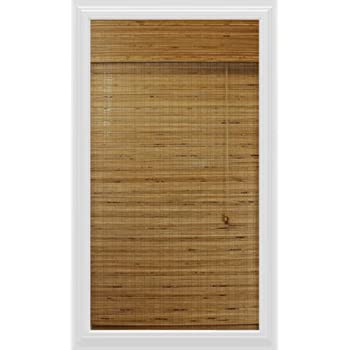 Calyx Interiors Bamboo Roman Shade, 23-Inch Width by 54-Inch Height, Dali Tuscan