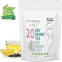 Weight Loss Diet Tea, Organic Herbal Detox Tea Natural Ingredients Skinny Tea (20 Days)