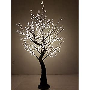 Bright Baum LED Light Cherry Artificial Tree, 7-Feet, Warm White 43