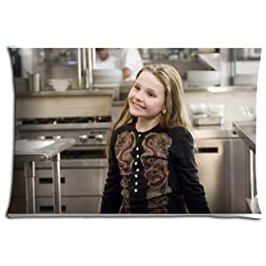 "16x24 16""x24"" 40x60cm floor pillow shell cases Polyester / Cotton removable Silky soft Abigail Breslin"