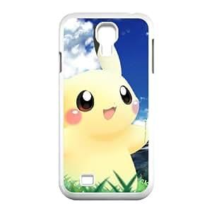 Pokemon Pikachu Anime Movie funda Samsung Galaxy S4 9500 caja funda del teléfono celular del teléfono celular blanco cubierta de la caja funda EEECBCAAL14950