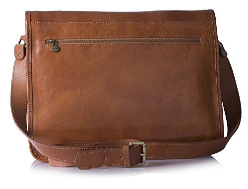 Bandoulière Dark Tan Scuro Adulte Mixte Cavallo Large Sac EpZqZw