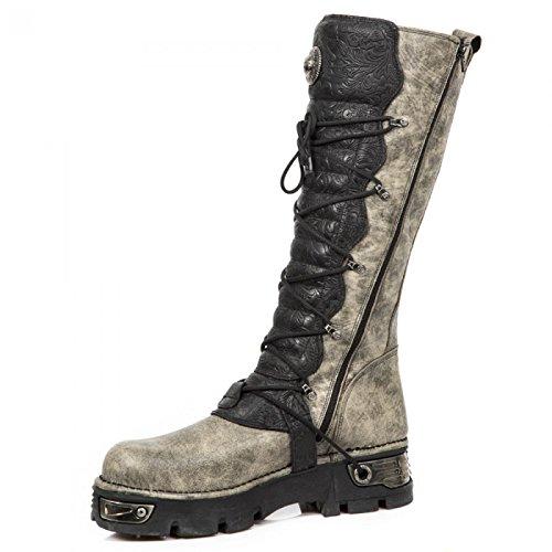 New Rock Boots M.272-cz02 Gotico Hardrock Punk Unisex Stiefel Schwarz