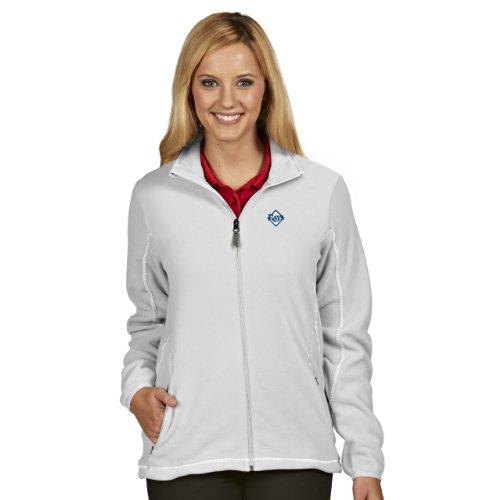MLB Tampa Bay Rays Women's Ice Jacket, White, Medium