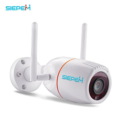 SIEPEM Outdoor camera wireless home security camera system wifi ip camera with night vision/motion detection,Waterproof bullet Surveillance Cameras/Pet cameras,wireless wifi webcam for SD card by SIEPEM