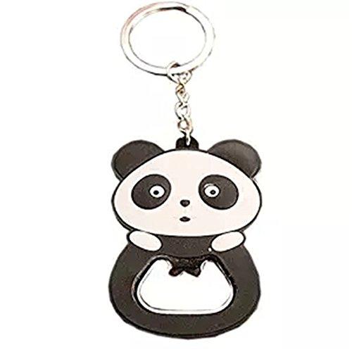 Kangkang@ Lovely Panda Bottle Opener Keychain Portable Beer/Soda/Wine Bottle Opener(2.3'')