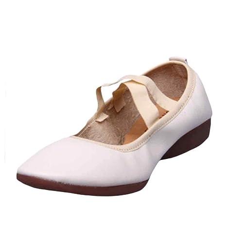 Huicai De Las Mujeres Baile de Ballet Botas Zapatos Zapatos ...