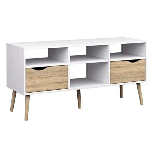 Tvilum Delta 4 Shelf TV Stand