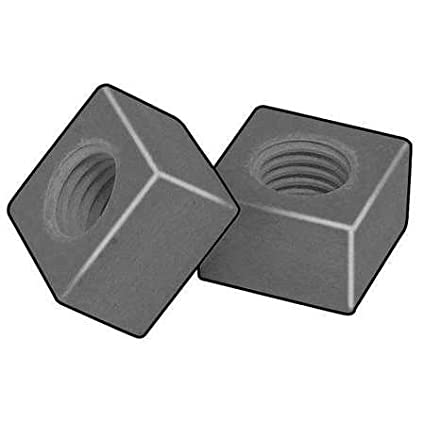 Regular, Pack of 5 1//2-13 Vinyl Ester Resin Plain Finish Square Nut