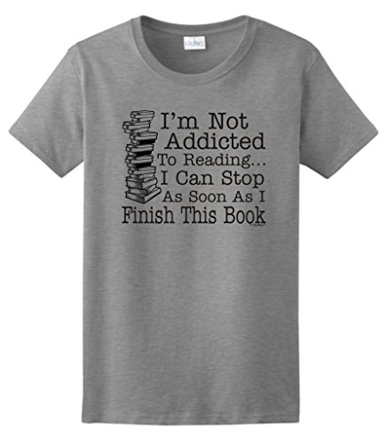 not-addicted-to-reading-can-stop-finish-this-book-ladies-t-shirt-3xl-sport-grey