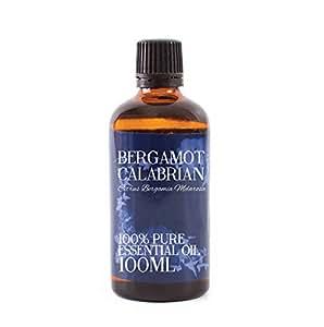 Aceite esencial Bergamota de Calabria, 100 ml y 100% puro, de la marca Mystic Moments