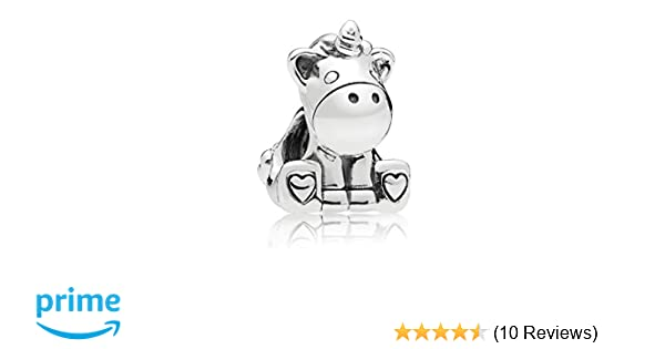 dd8b26db4 Amazon.com: PANDORA Bruno the Unicorn: Jewelry