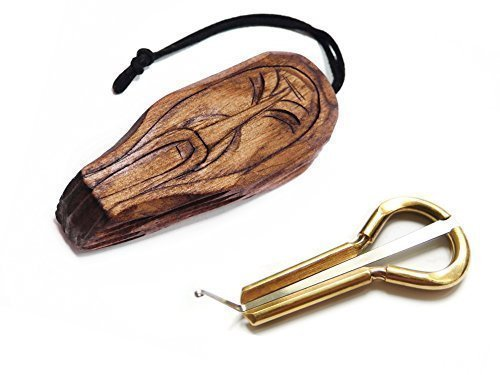 Jew's Harp by P.Potkin in wooden...
