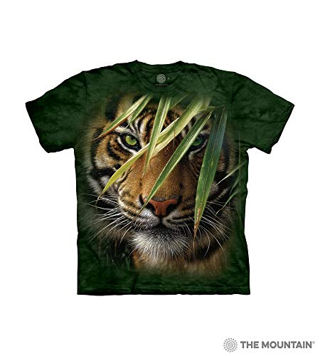 (The Mountain Emerald Forest Child T-Shirt, Green, XL)