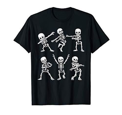 Halloween Skeleton Dance (Dancing Skeletons Dance Challenge Boys Girl Kids Halloween )
