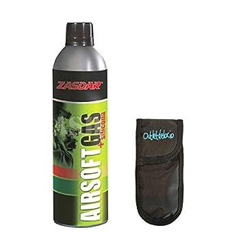 Botella Gas + Siliconas de 750 ML para Pistolas de Airsoft Que Funcionan por