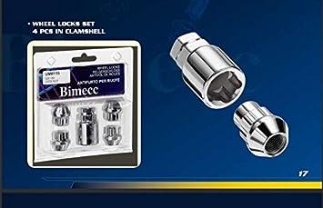 Locks M12 x 1.5 Bright Zinc Lugs TRS VPE01 Locking Alloy Wheels Nuts Bolts