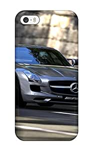 Flexible Tpu Back Case Cover For Iphone 5/5s - Gran Turismo Halo 4 For Ipad