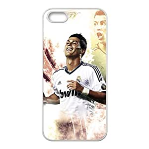 Custom CR7 Football Player Cristiano Ronald Case Cover for iPhone 5 and iphone 5s