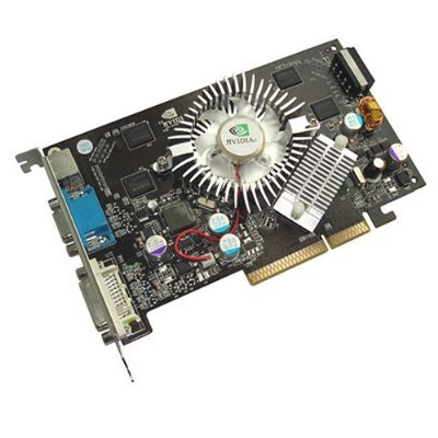 nVIDIA Geforce 7300GT 7300 GT 512MB AGP 8X DDR2 128-bit Video Card DVI / TV Out / VGA Support ()
