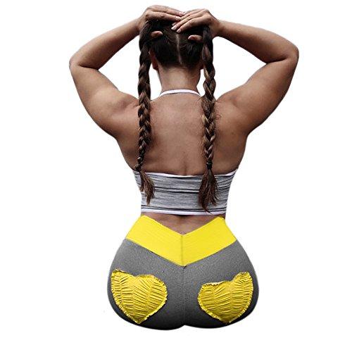 Yoga Pantaloni Yoga Esecuzione Pantaloni Donna Sportivi Gym Donna Sport Leggings In Morwind Donna Fitness Palestra Leggins Yoga Donne Sportivo Yoga Pants Fitness Yellow Di 4xP1wFOB
