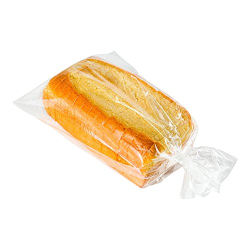 Bread Bags, Bread Loaf Bags, Micro Perforated Bread Bag with Wicket Dispenser - Clear - 10 x 16 Inch - 250ct Box - Bag Tek - Restaurantware ()