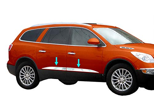 Tyger Auto Made in USA! Works with 2007-2017 Buick Enclave Above Body Line Specialty Accent Trim 3