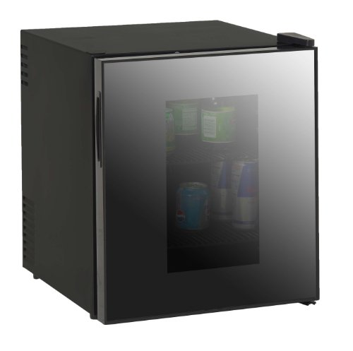 Avanti 1.7-Cubic Foot Superconductor Beverage Cooler W/Mirrored Finish Glass Door by Avanti