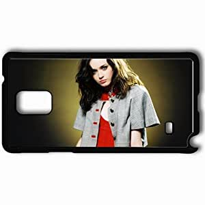 Personalized Samsung Note 4 Cell phone Case/Cover Skin Alexis bledel actresses famous for being star of the cws gilmore girls and the sisterhood of the traveling pants Black
